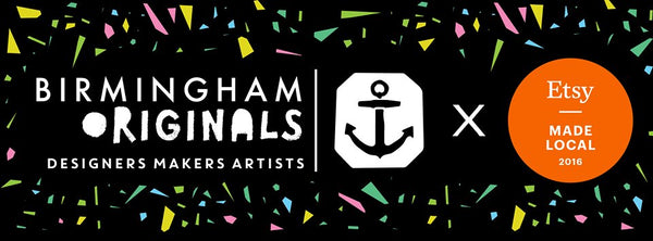Visit us at Birmingham Originals Makers Market - 2nd-4th Dec 2016