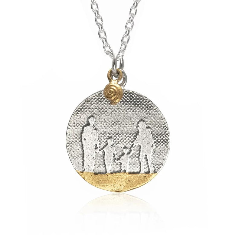 Beach Memories Family Necklace