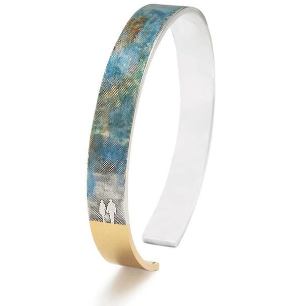 Blue Skies Couple Bangle