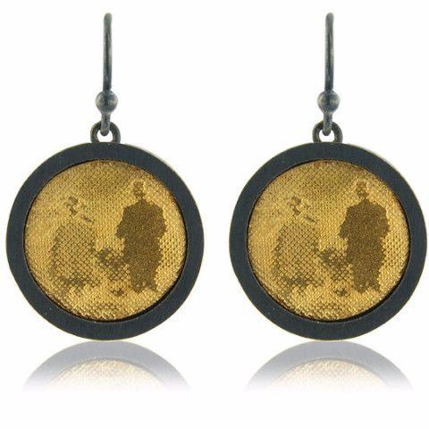 Countryside Couple Drop Earrings