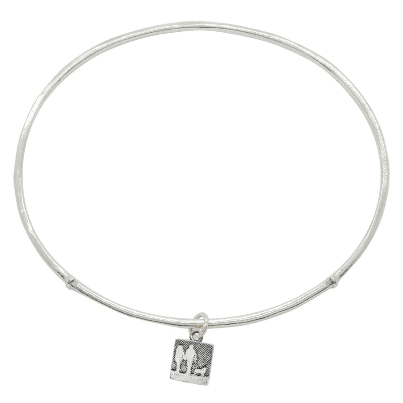 Couple and Mans Best Friend Dog Bangle