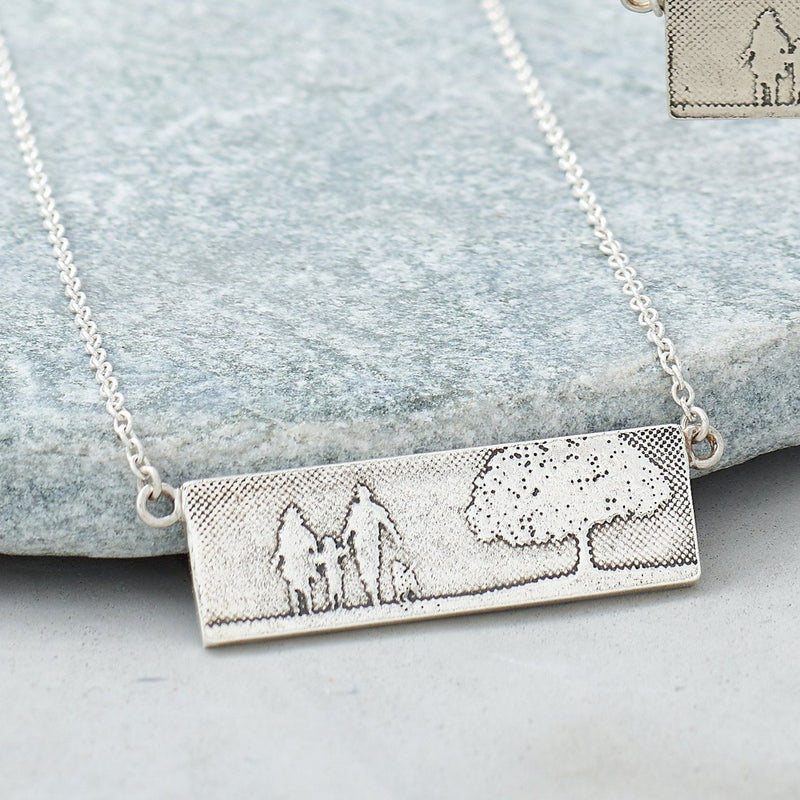 Dog Lovers Family Necklace