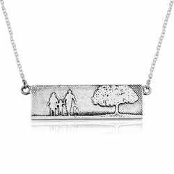 Dog Lovers Family Tree Necklace