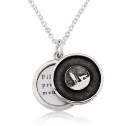 Dog Lovers Nights Sky Locket