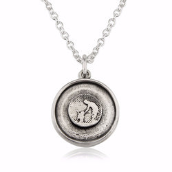 Dog Lovers Silver Petting Locket