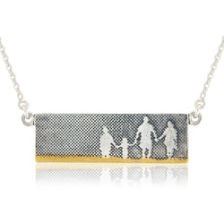 Family on the Beach Necklace