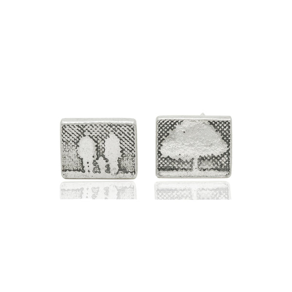 Family Tree Stud Earrings