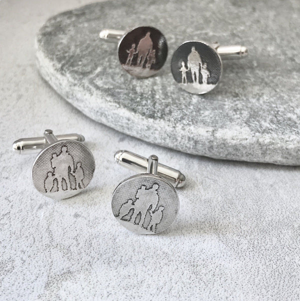 Father and Child Cufflinks