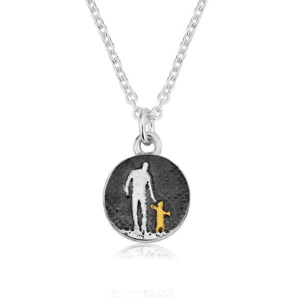 Father and Child Necklace (Small)