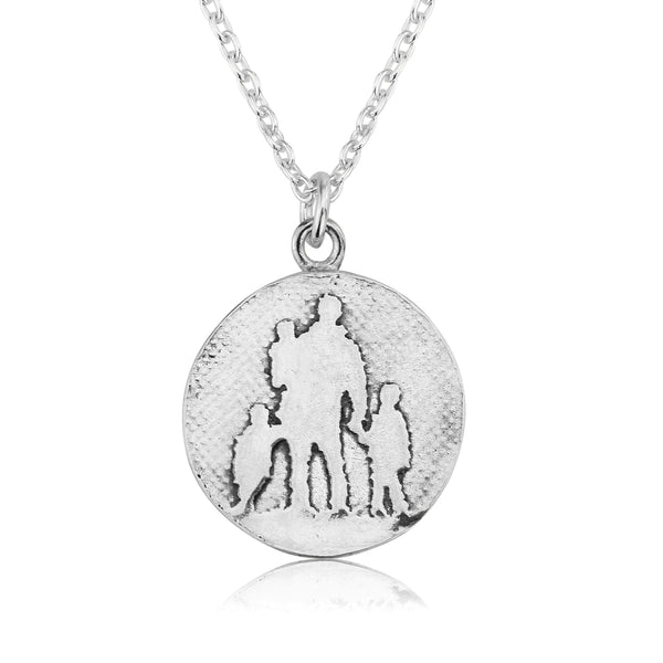 Father of Three Necklace
