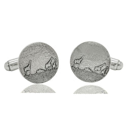 Giraffe Family Cufflinks