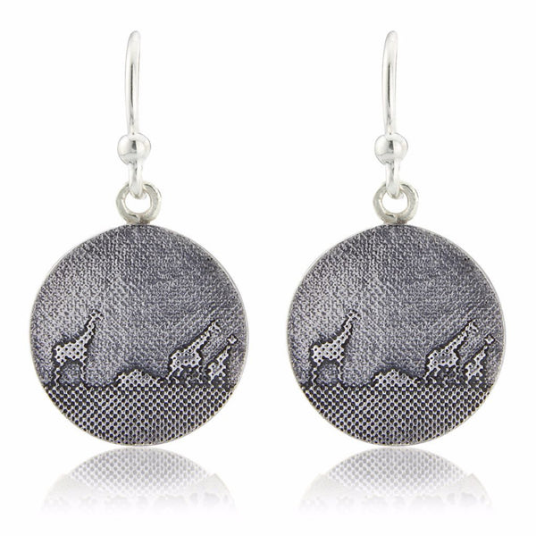 Giraffe Family Drop Earrings