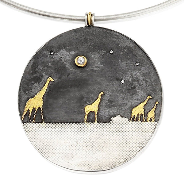 Giraffe Safari Showstopper Necklace & Locket