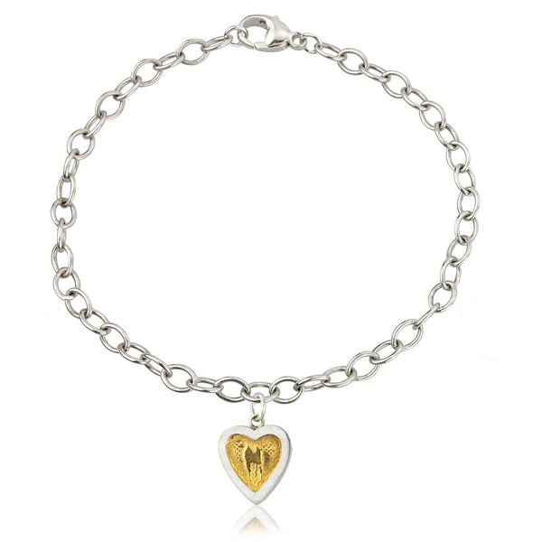 Hearts of Gold bracelet