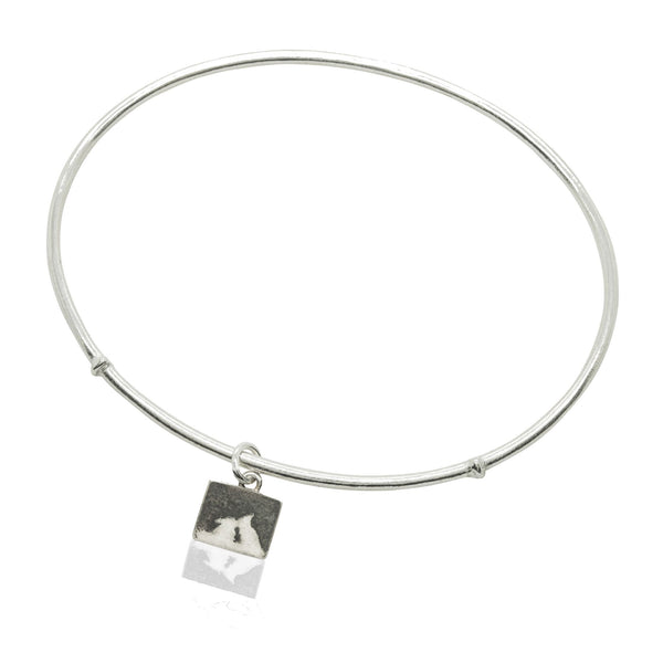 Kissing Bunny Rabbit Night's Sky Bangle