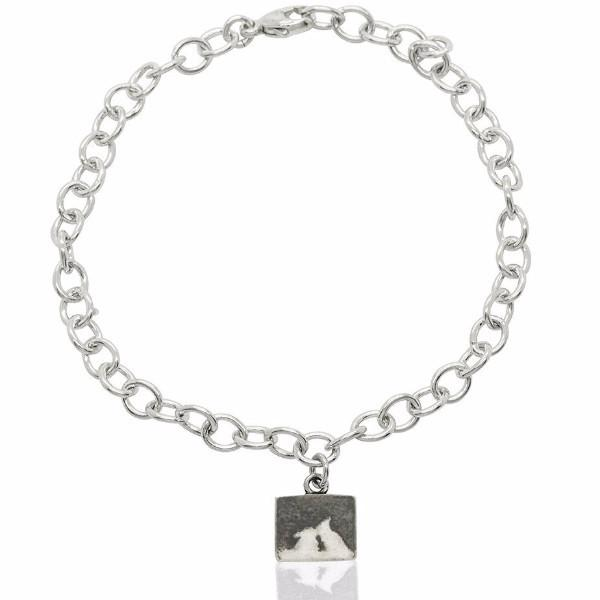 Kissing Bunny Rabbit Night's Sky Bracelet