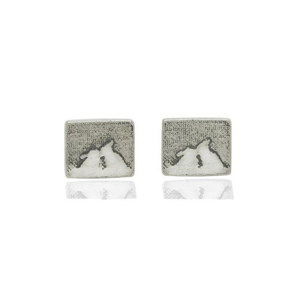 Kissing Bunny Rabbit Stud Earrings