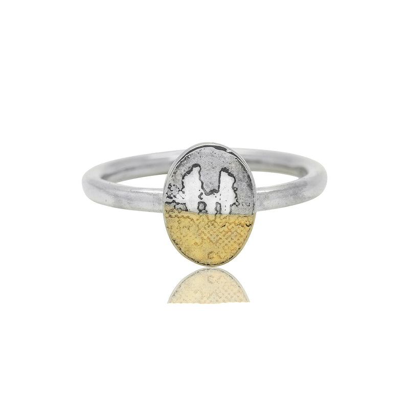 Little Footprints in the Sand Family Ring