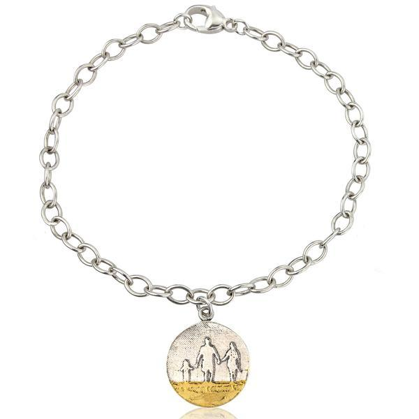 Little me you and mum on the beach bracelet