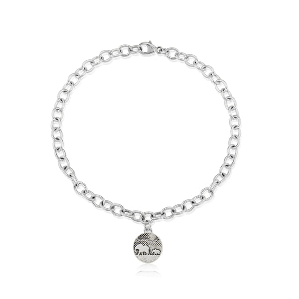 Little Mother & Baby Elephant Bracelet