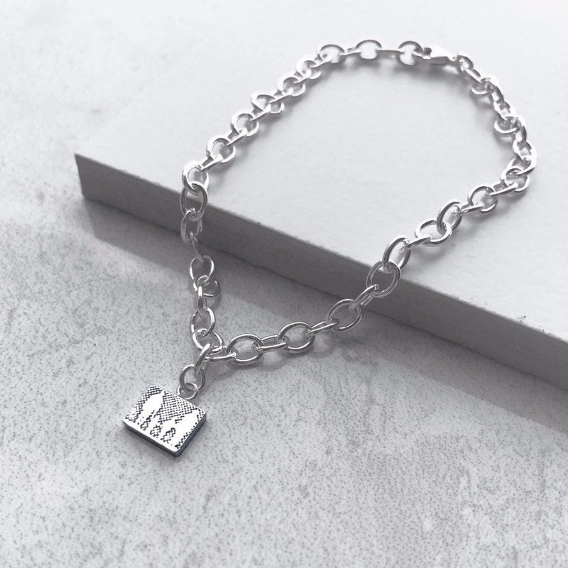 Little Silver Family Bracelet