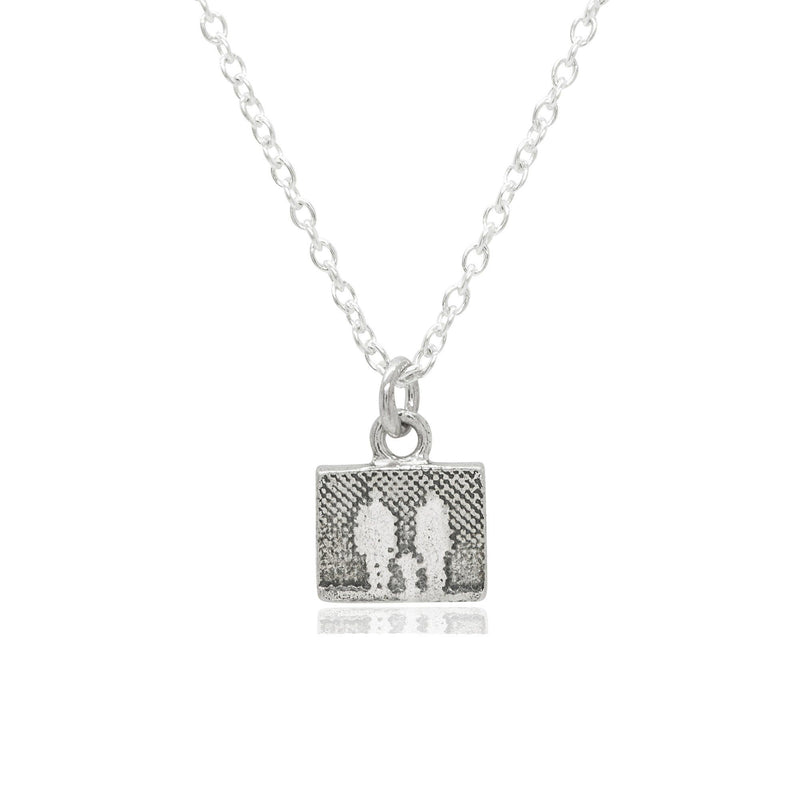 Little Silver Family Necklace