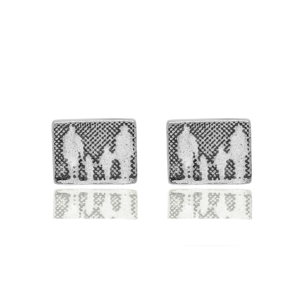 Little Silver Family Stud Earrings