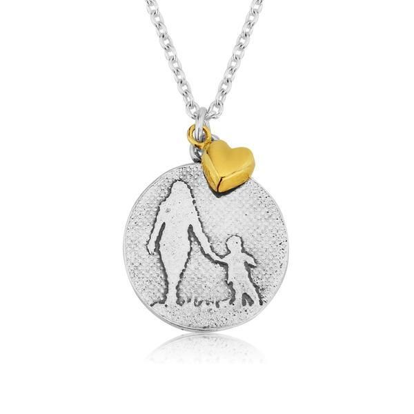 Mother and Child Necklace (small)