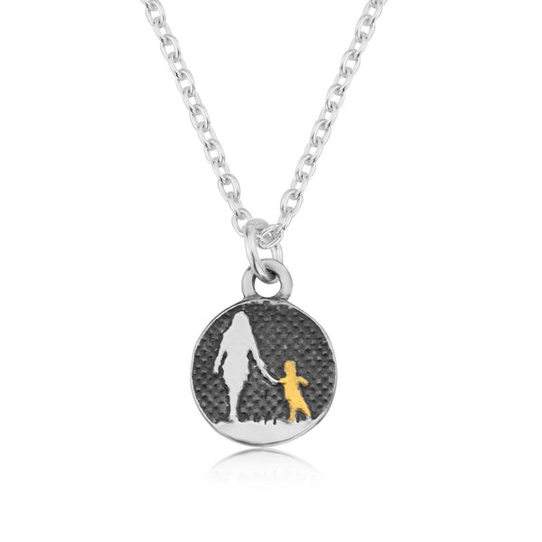 Mother and Child Nights Sky Necklace (medium)