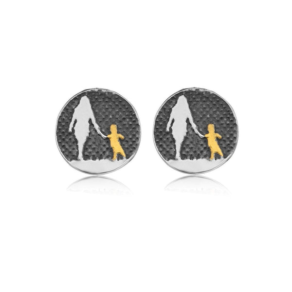 Mother and Child Nights Sky Studs