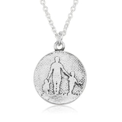 Mother of Two Necklace (medium)