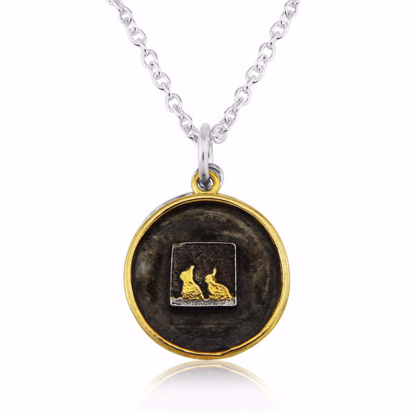 Rabbit Lovers Locket