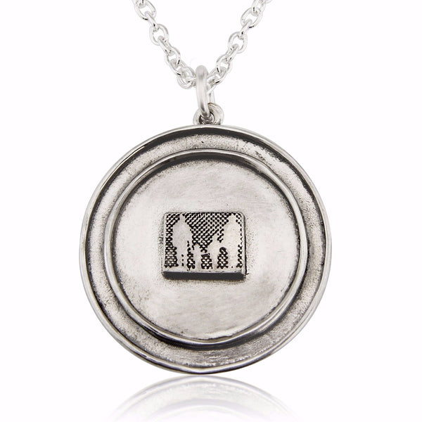 Silver Family Locket
