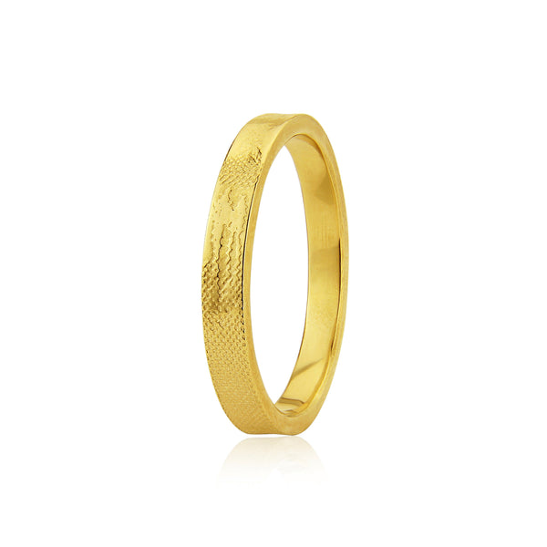 Sunset Chasers Wedding Ring in Yellow Gold