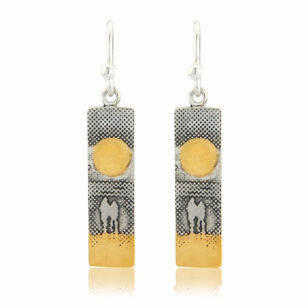 Sunset Couple Earrings