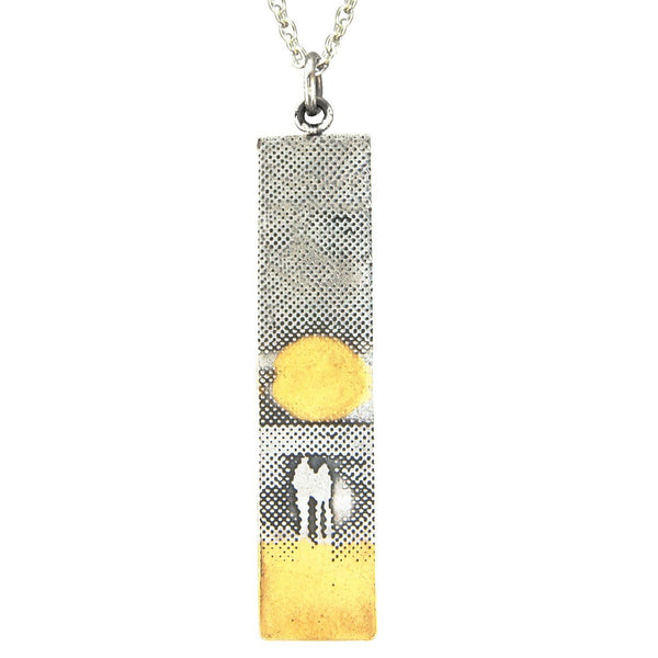 Sunset Couple Necklace