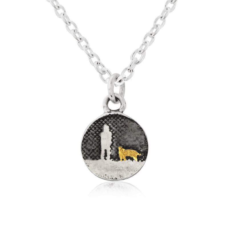 Walk's Under Night's Sky Dog Necklace (small)