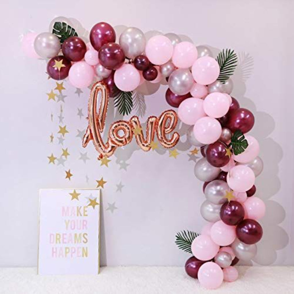 INFLATED BALLOON ARCHES & BACKDROPS