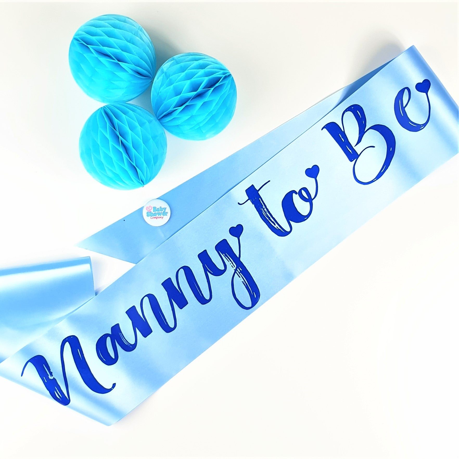 Nanny to Be Sash - Blue