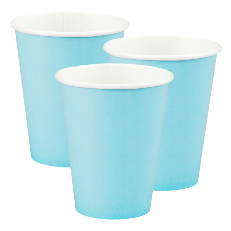 Paper Cups Baby Blue,[product type] - Baby Showers and More
