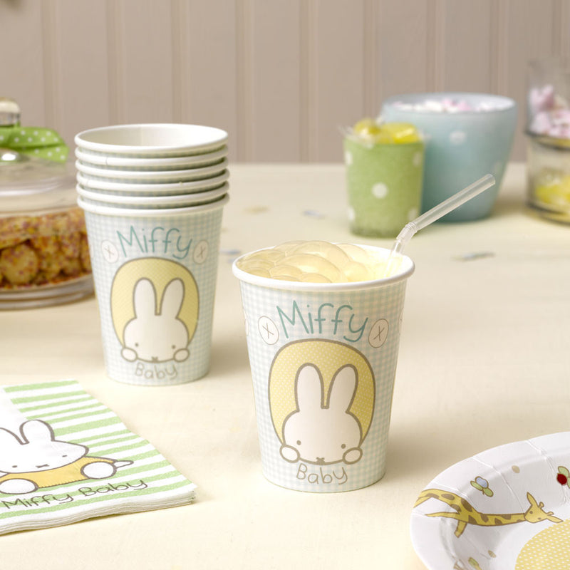 Baby Miffy Cups,[product type] - Baby Showers and More