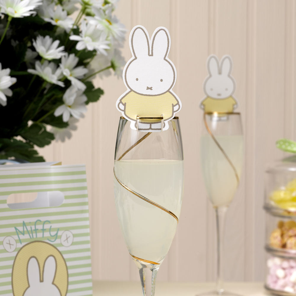 Baby Miffy Glass Decoration