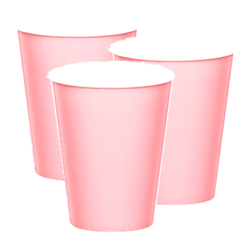 Pink Paper Cups - Uk Baby Shower Co ltd