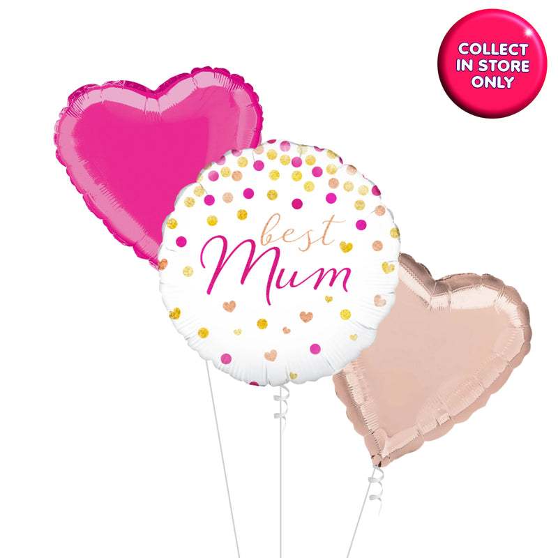 Best Mum Balloons - Helium Inflated
