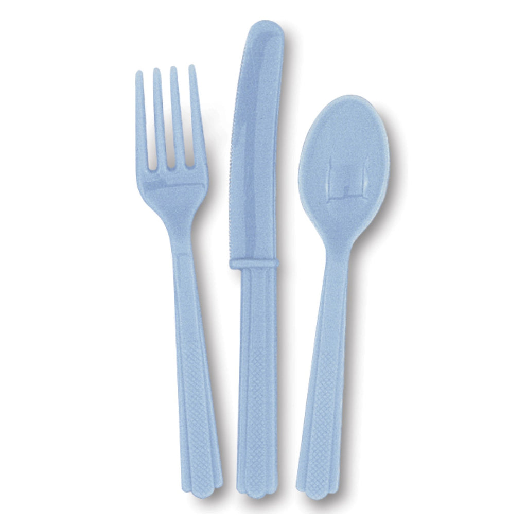 Powder Blue Cutlery Pack
