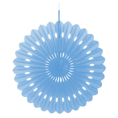 Blue Decorative Fan - Uk Baby Shower Co ltd