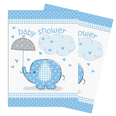 Blue Umbrellaphant Invitations - Uk Baby Shower Co ltd