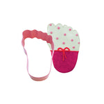 Baby Foot Pink Cookie Cutter