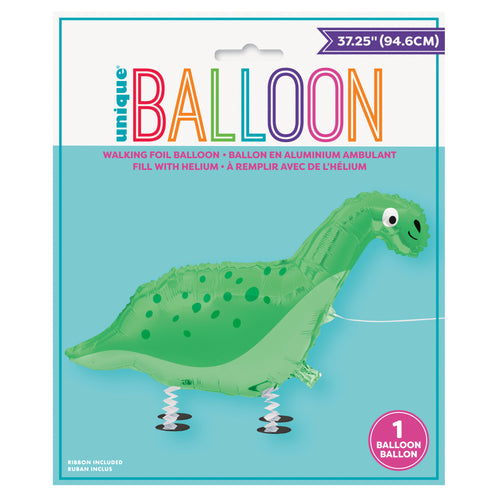 Walking Pet Dinosaur Balloon INFLATED