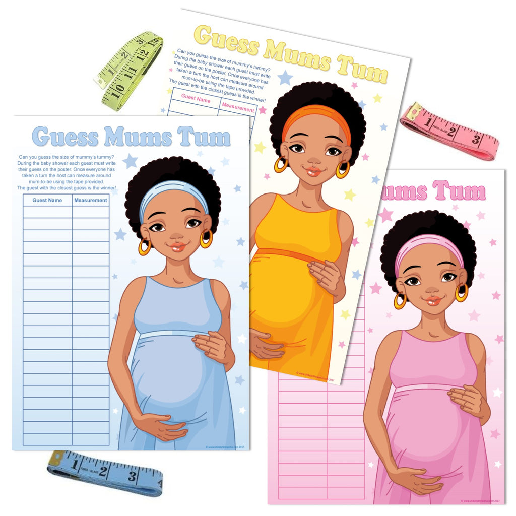 Ethnic Guess Mums Tum Party Game